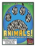 ANIMALS! Informational Passages & Comprehension Questions (Grades K-1st)