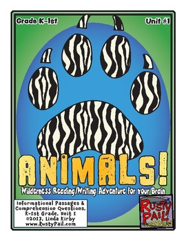 ANIMALS! Informational Passages & Comprehension Questions