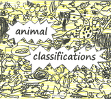 ANIMALS R US Animal Classifications; 6 part Song for Voice