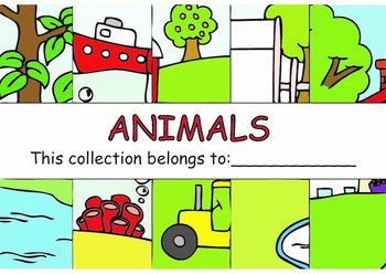 ANIMALS Set (Collection + Flashcards + Game)