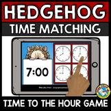 ANIMALS UNIT MATH GAME (TELL TIME TO THE HOUR ACTIVITY KINDERGARTEN) O'CLOCK