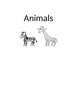 ANIMALS and SHAPES
