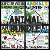 Animals Around the World Features Habitats and Vocabulary Bundle