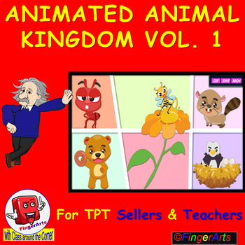 ANIMATED ANIMAL KINGDOM VOL 1 BY COMIC TOONS for TPT Sellers / Teachers