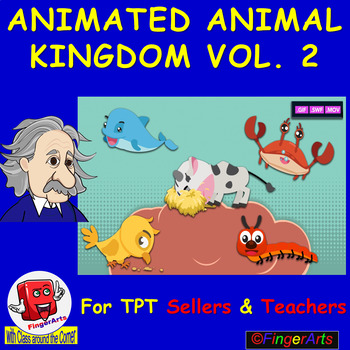 ANIMATED ANIMAL KINGDOM VOL 2 BY COMIC TOONS for TPT Sellers / Teachers
