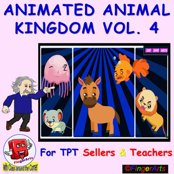 ANIMATED ANIMAL KINGDOM VOL 4 BY COMIC TOONS for TPT Sellers / Teachers