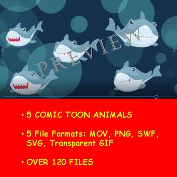 ANIMATED ANIMAL KINGDOM VOL 6 BY COMIC TOONS for TPT Sellers / Teachers