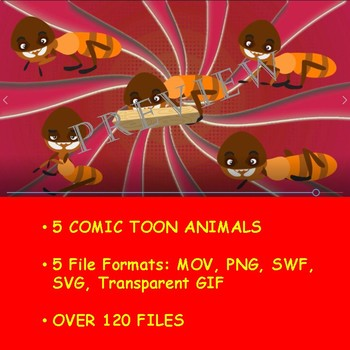 ANIMATED ANIMAL KINGDOM VOL 7 BY COMIC TOONS for TPT Sellers / Teachers