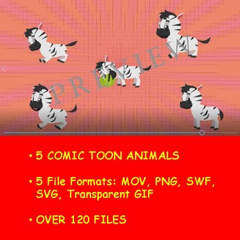 ANIMATED ANIMAL KINGDOM VOL 8 BY COMIC TOONS for TPT Sellers / Teachers
