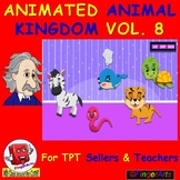 ANIMATED ANIMAL KINGDOM VOL 8 BY COMIC TOONS for TPT Selle