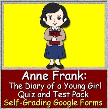 Anne Frank: The Diary of a Young Girl NOVEL Study - Printable AND Paperless