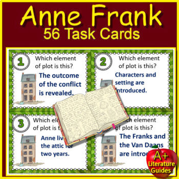 Anne Frank: The Diary of a Young Girl NOVEL Study Unit Printable AND Paperless