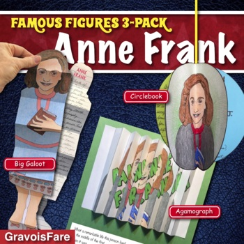 ANNE FRANK ACTIVITIES: 3 Hands-On Projects and Foldable Craftivities