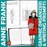 ANNE FRANK GRAPHIC ORGANIZERS {ANNE FRANK WORKSHEETS}
