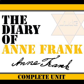 THE DIARY OF ANNE FRANK Unit Memoir Study - Literature Guide