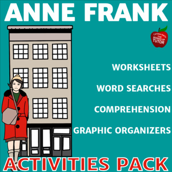 {ANNE FRANK ACTIVITIES} {ANNE FRANK GRAPHIC ORGANIZERS}