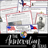 ANNEXATION OF TEXAS Readings and Doodle Notes