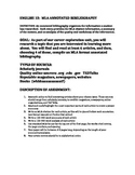 (Easy but Great) ANNOTATED BIBLIOGRAPHY: Assignment and Rubric