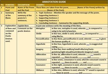 ANNOTATION GUIDE: HANDOUT