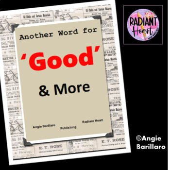 ANOTHER WORD FOR GOOD...