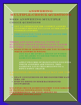 ANSWERING MULTIPLE-CHOICE QUESTIONS-A STUDY GUIDE