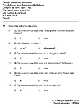 ANSWERS - DOCX - F.I. - Gr. 4 - Ont. Min. of Ed. - April 5, 2018