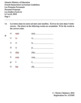 ANSWERS - GR. 1 Independent Student Workbook - PAGES - April 5, 2018
