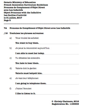 ANSWERS - PDF - F.I. - Gr. 7 - Ont. Min. of Ed. - April 6, 2018