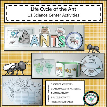 ANT LIFE CYCLE ACTIVITY RESOURCE CENTERS