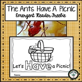 ANT INTERACTIVE  EMERGENT READER RESOURCE FREEBIE
