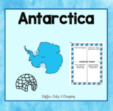 ANTARCTICA- Informational Text, Questions, and Research As
