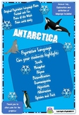 ANTARCTICA POEM - ORIGINAL FIGURATIVE LANGUAGE  - FIND, HIGHLIGHT, LEARN