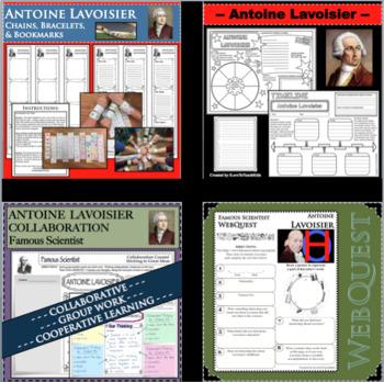ANTOINE LAVOISIER - WebQuest in Science - Famous Scientist - Differentiated