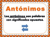 ANTONIMOS/ANTONYMS BILINGUAL