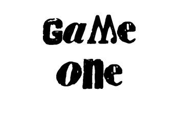 ANTONYMS Match Games Bundle: PRINTER FRIENDLY