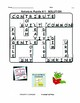 ANTONYMS Crossword Puzzles .. Early Finishers Activity   Gr 5,6  CORE LISTS