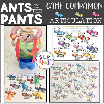 ANTS IN THE PANTS, ARTICULATION (SPEECH & LANGUAGE THERAPY)