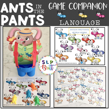 ANTS IN THE PANTS, LANGUAGE, GAME COMPANION (SPEECH & LANGUAGE THERAPY)