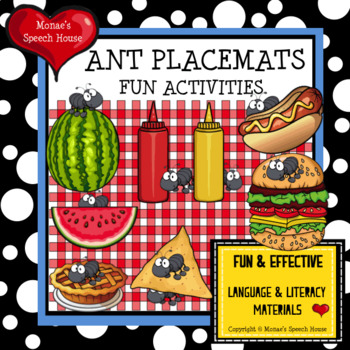 ANTS TIC TAC TOE SONG PIECES Speech Therapy GAME BOARDS