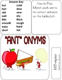ANTonymns File Folder Reading Game Antonyms