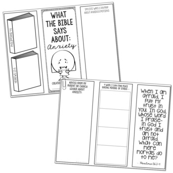 ANXIETY: Bible Lesson Activity for Teens | Christian Discussion Questions