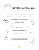 ANXIETY TOOL KIT POSTER