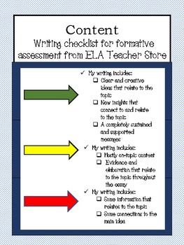 ANY-GENRE Writer's Checklist: Content