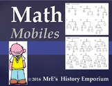 ANY LESSON  Math Mobiles projects