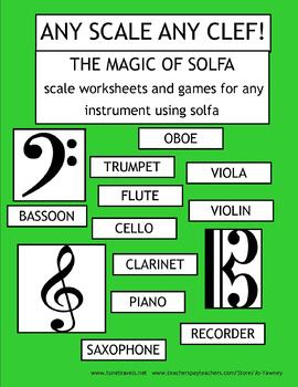 ANY SCALE ANY CLEF - The Magic of Solfa