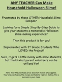 ANY TEACHER Can Make the Best Halloween Slime with This Science Recipe!