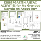 Kindergarten ANZAC ACTIVITIES for My Grandad Marches on Anzac Day
