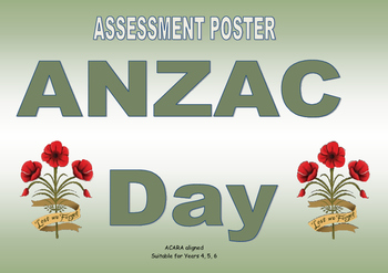 ANZAC DAY Assessment