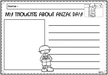 ANZAC DAY A Literacy Unit