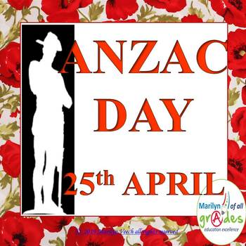 ANZAC DAY - Activities, Worksheets, Research